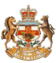 Ensigne du The King's Own Calgary Regiment