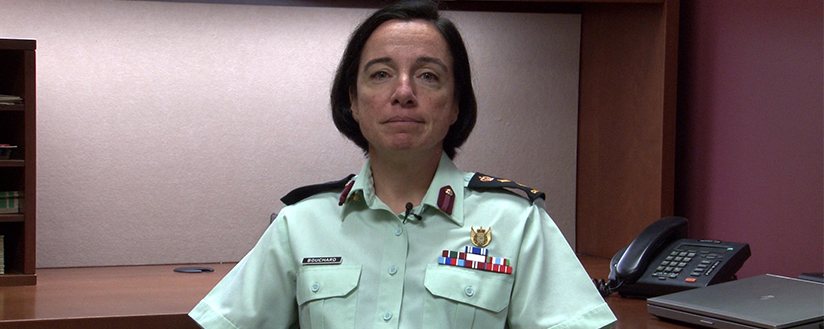 Diapositive - Colonel Annie Bouchard
